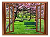 Wall26 Removable Wall Sticker/Wall Mural - 36'x48' (36'x48', Cherry Blossom -...