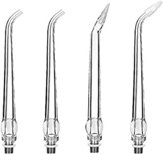 4 Pack Water Jet Tips Replacement for YaFex Portable Water Flosser (AR-W-06D)