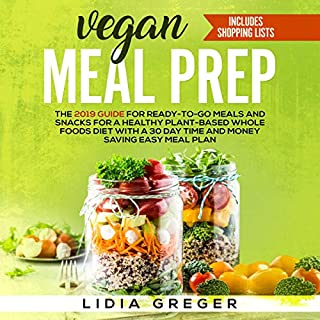 Vegan Meal Prep audiobook cover art