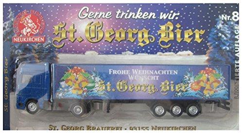 St. Georg Bier Nr.19 - Frohe Weihnachten - DAF 95 XF - Sattelzug