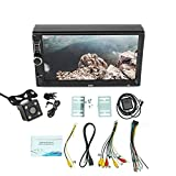 Iycorish 2 Din Auto Stereo,7 Inch Quad Core Contact Screen Car Multimedia Player