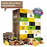 Früchte-Nüsse-Kerne Adventskalender I köstlicher Weihnachtskalender 24 Feinkost Überraschungen.Gourmet Geschenkset für Sportler & Gesundheitsbewusste