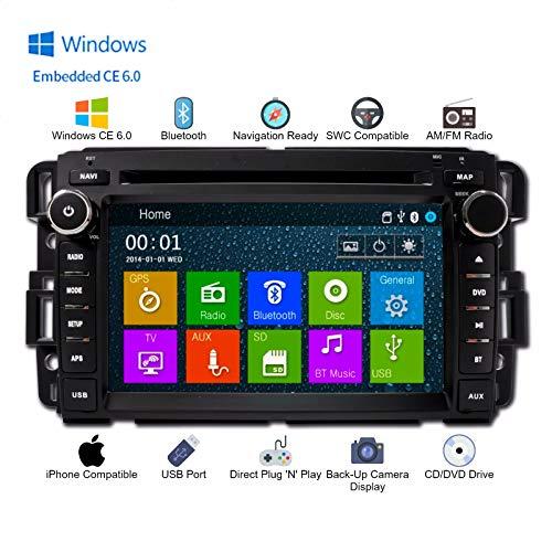In Dash GPS Navigation Bluetooth DVD AM/FM Multimedia Radio (Fits: GMC Sierra 07-13, GMC Acadia 07-13, GMC Yukon 2007-2013, Chevy Silverado 07-12, Chevy Express Van 08-11, Chevy Suburban 07-12, Chevy Tahoe 07-12)
