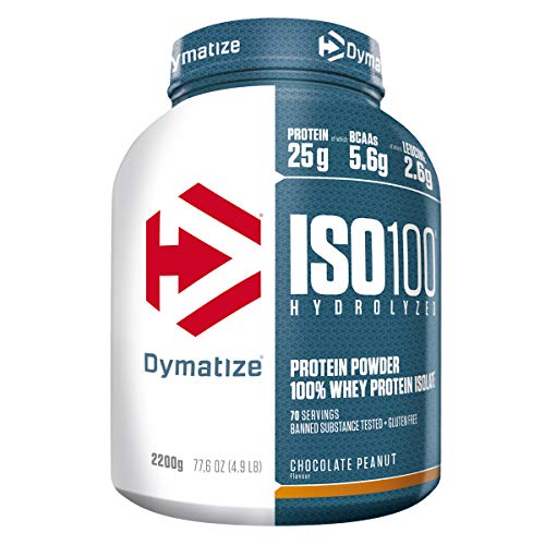 ISO100 Hydrolyzed Whey Protein Powder, Chocolate Peanut