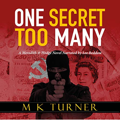 One Secret Too Many audiobook cover art