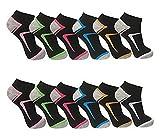 Pesail 10 Paar Damen Sneaker Socken Größe 35-42 (39-42)