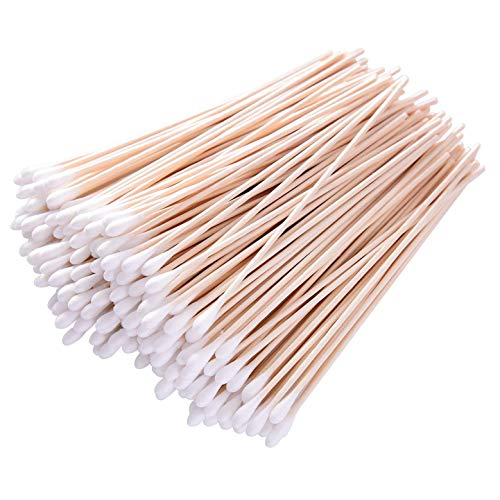 6'' Long Cotton Swabs 700pcs for Makeup, Gun Cleaning or Pets Care