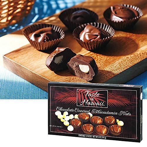 テイストオブハワイ(Taste of HAWA1) マカデミアナッツ チョコレート 1箱【ハワイ おみやげ(お土産) 輸入食品 スイーツ】