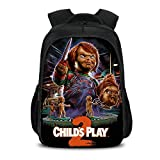 Good Guys Chucky School Bag Morral Bolsa de rebobinado Mochila expandible Trekking Mochila for niño ...