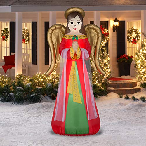 Praying Angel Christmas Inflatable