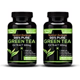 Perennial Lifesciences 98% Pure Green Tea Extract 95% Polyphenols 75% Catechins 50% Egcg - 500Mg (Pack Of 2)