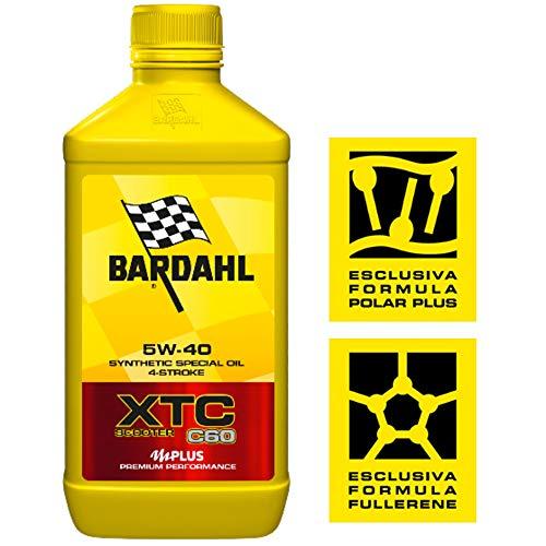 Bardahl Olio Moto XTC C60 Scooter 5W-40 4 Tempi 1 LITRO - 362040