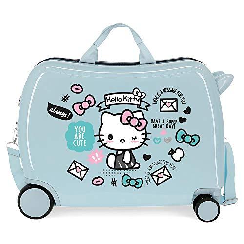 Hello Kitty You are Cute Valise Enfant Bleu 50x39x20...