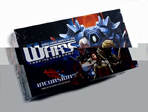 Wars Trading Card Game  Incursion Starter Box by Wars