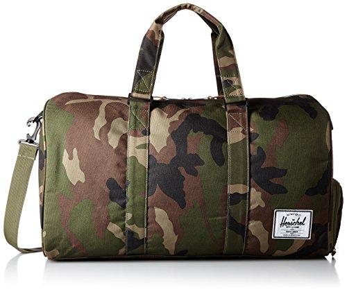 Herschel Unisex Novel Bag Seesack, Woodland Camo Duffle, 0 cm