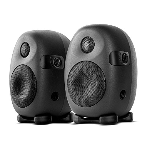 Swans Speakers X3 2.0 Professional Active Studio Monitors, Designed for Audio Engineers and Music Producers, 60Hz to 20kHz Flat Response, Ovoid Cabinet Minimizes Distortions, XLR INPUT, White
