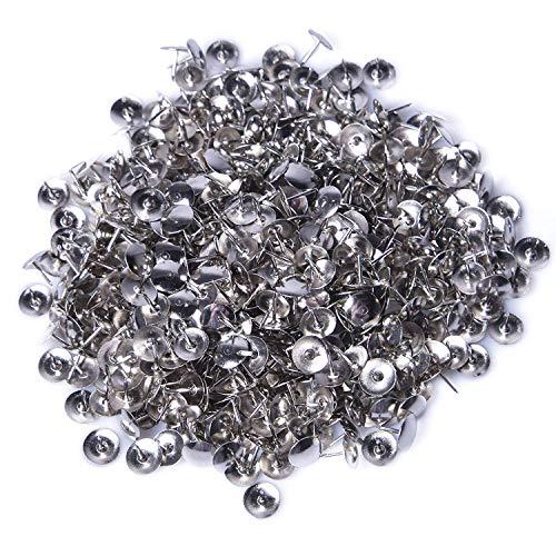 400 Stuks Thumb Tacks, Borte 10mm Tekening Pins Ronde Pushpins Thumbtacks Hoofd Nagel Pin Deur nagel voor Office of DIY