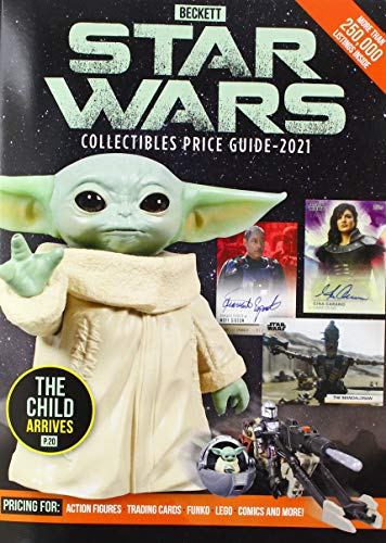 Beckett Star Wars Price Guide - 2021 (Beckett Star Wars Collectibles Price Guide)