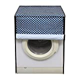 Glassiano Washing Machine Cover for IFB 6.5 kg Front Load Senorita Aqua VX Washing Machine, Multicolor