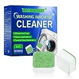 SEGMINISMART Reiniger für Waschmaschine,Brausenreiniger für Waschmaschine,solide für Waschmaschinen,Tiefenentfernung für Bad und Küche