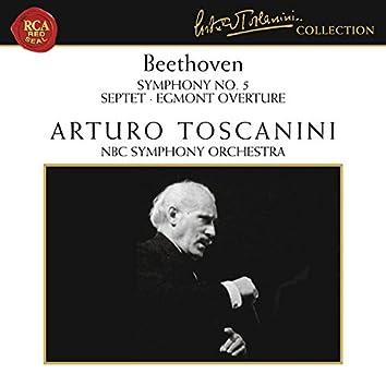 Beethoven: Symphony No. 5 in C Minor, Op. 67, Septet in E-Flat Major, Op. 20 & Egmont Overture, Op. 84
