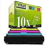 10x MWT kompatibel Toner für HP Color Laserjet Pro M 252 274 dw DN n ersetzt CF400A-03A 201A