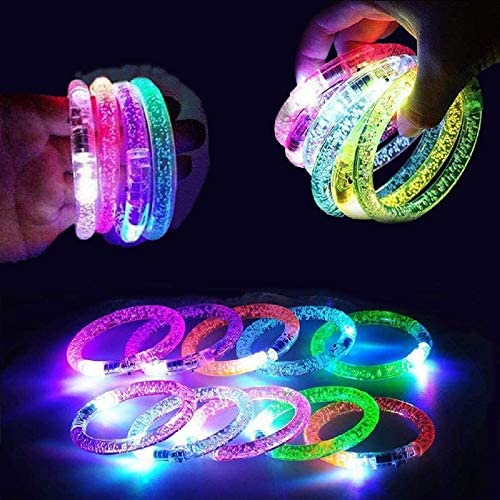 36 Pack light up bracelets Glow In The Dark Party Favors Flashing Light Up Bracelets Glow Sticks product image