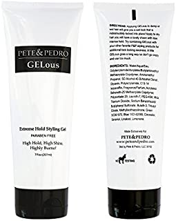 Pete and Pedro GELous - Extreme Hold Styling Gel for Men by Pete and Pedro