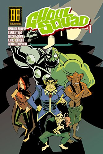 Book: Ghoul Squad #1 by Brandon Rhiness