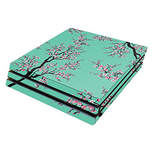 MightySkins Skin Compatible with Sony PS4 Pro Console - Cherry Blossom Tree | Protective, Durable, and Unique Vinyl Decal wrap Cover | Easy to Apply, Remove, and Change Styles | Made in The USA