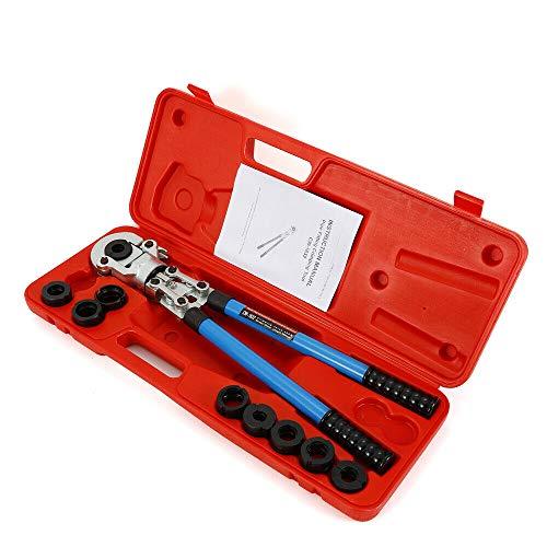 Crimpadora de tubos, 16 – 32 mm y V 12 – 28 mm, crimpadora manual profesional, varios materiales compuestos, juego de prensa, alicates cortadores de tubos.