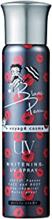 Blanc Peau(ブランポゥ) 【薬用美白】UVスプレー ノンケミカル SPF50+/PA++++ BETTY 日焼け止め ホワイトヴァーヴェナの香り 透明 80グラム (x 1)
