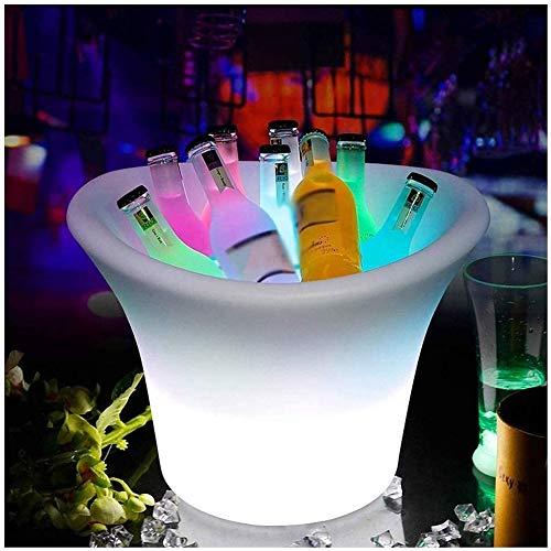Secchiello Per Il Ghiaccio a LED, Vaschette Per Bevande E Secchielli Per Feste, Refrigeratore Per Bevande Preferito Per Birra, Vino, Champagne, Prosecco