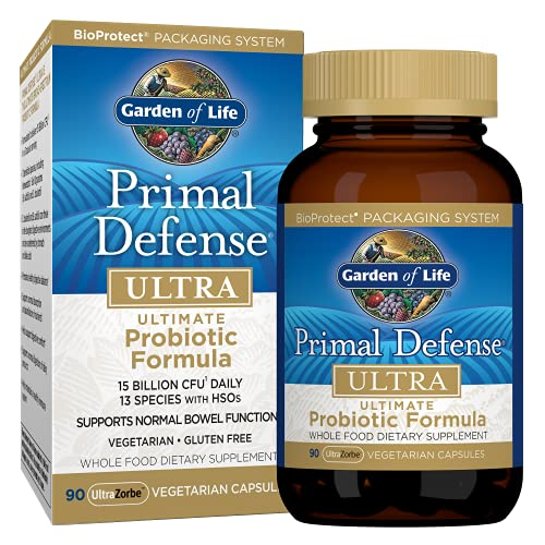 Garden of Life Whole Food Primal Defense Ultra Ultimate Probiotic Dietary Supplement...