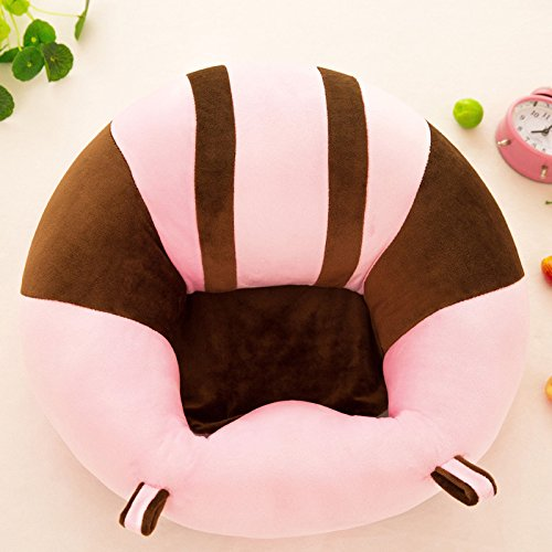 Lowest Price! Infant Sitting Chair, Premium Soft Plush, Washable Baby Support Seat Suitable 3-10 Mon...