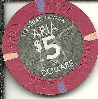 $5 aria las vegas casino chip