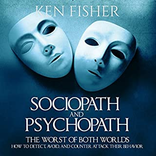 Sociopath and Psychopath audiobook cover art