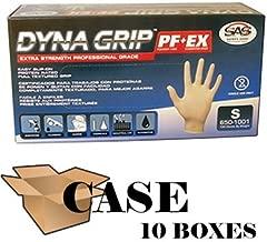 Dyna Grip Powder-free Latex Exam Gloves - Case Size X-large