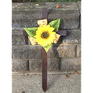 Cemetery Cross, Sunflower Memorial Cross