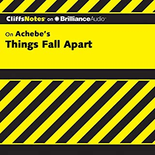 Things Fall Apart: CliffsNotes audiobook cover art