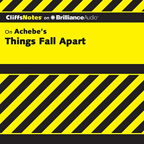 Things Fall Apart: CliffsNotes cover art