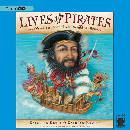 Lives of the Pirates audiobook cover art