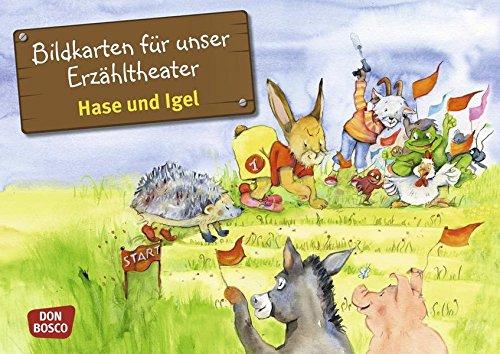 Hase und Igel - Bildkarten für unser Erzähltheater. Entdecken. Erzählen. Begreifen. Kamishibai Bildkartenset. (Märchen für unser Erzähltheater)