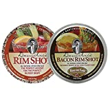 Demitris Rim Shot All Natural Rimming Salt Bundle - Original and Bacon Flavor - Margarita and Bloody...