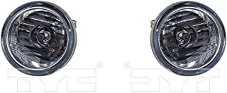 CarLights360: Fits 2007 2008 2009 2010 2011 Suzuki SX4 Fog Light Assembly Driver and Passenger Side w/Bulbs - Replaces SZ2594101 SZ2595100 (Vehicle Trim: Hatchback)