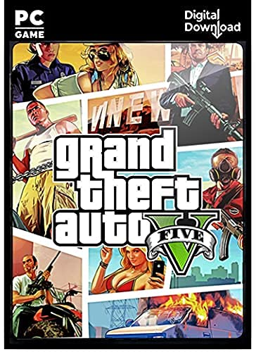 Grand-Theft-Auto 5 – Digital Download (No DVD/CD) – [Instant Email Delivery] – Full PC Game.