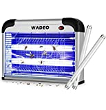 WADEO Bug Zapper Indoor with Smokeless Mosquito Killer Attracts and Kills Mosquitoes,Flies, Moths