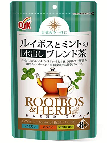 OSKルイボスとミントの水出しブレンド茶ティーパック(2.5g×8袋) ×4個 ティーバッグ