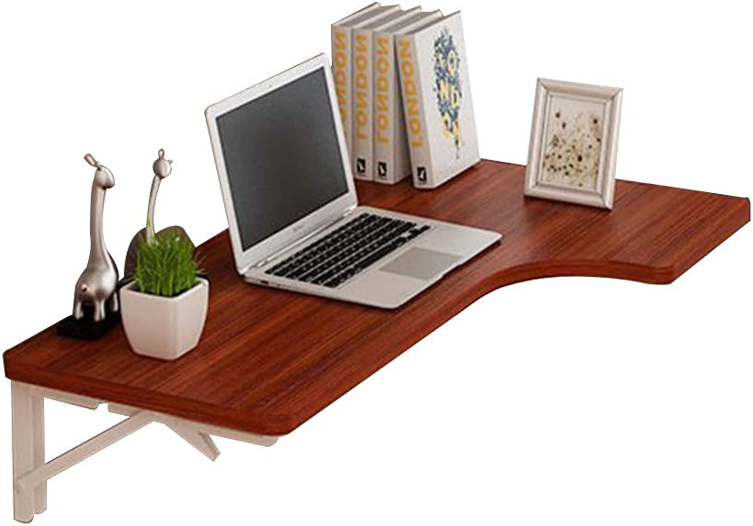 Virod-Desks Corner Folding Table, Drop-Leaf Table Wall-Mounted Dining Table Wall Hanging Computer Desk, 7 Size Modern Style (Size   80  60 cm)