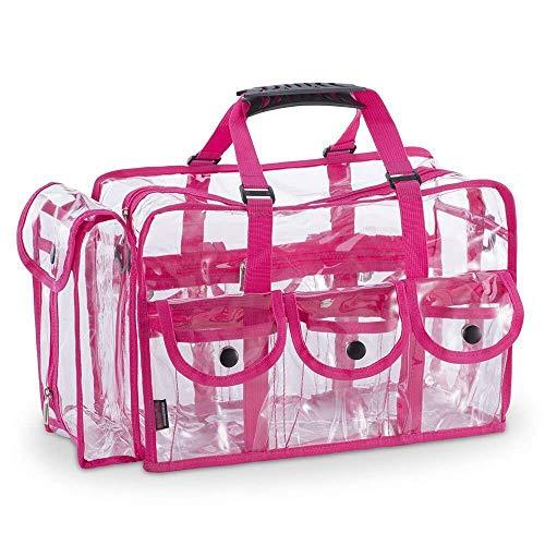 XXSHN Bolsa de Aseo Transparente Grande Transparente, Organizador de Maquillaje de Viaje cosmético, Bolsa de Lavado, Bolsa de Equipaje, Kit de Dopp, Caja para Viajes